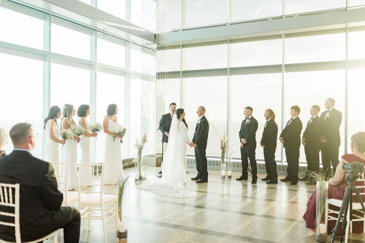 Modern Ceremony at One Atlantic in Atlantic City, New Jersey