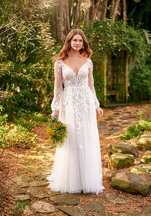Essense of Australia D3145 A-Line Wedding Dress