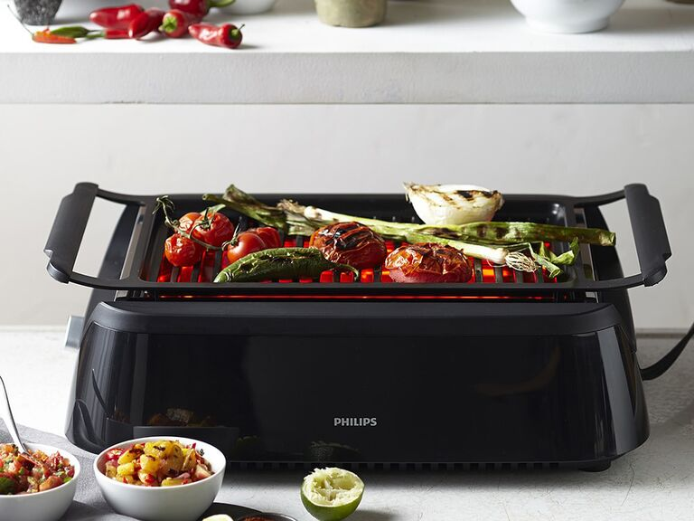 long-distance dad gift indoor smokeless grill