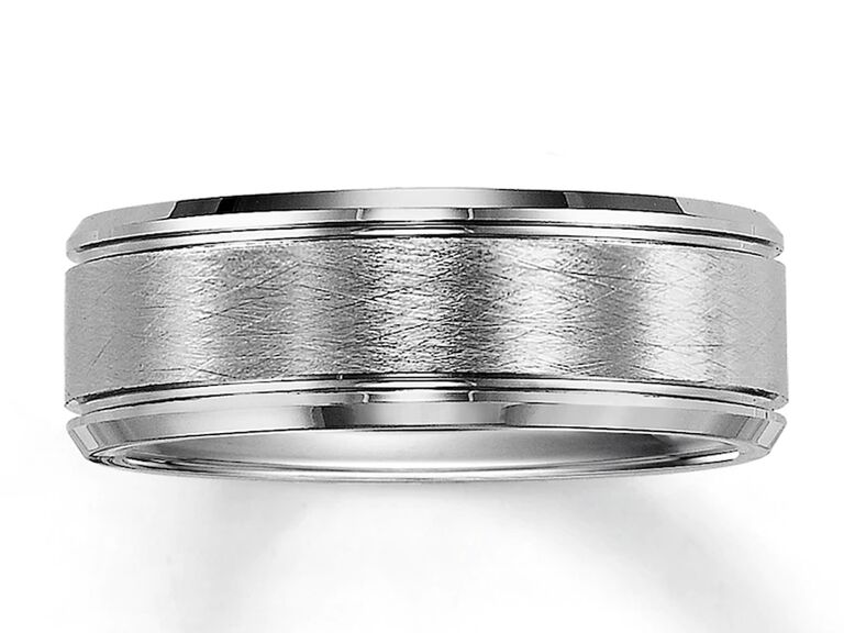 Jared tungsten wedding band