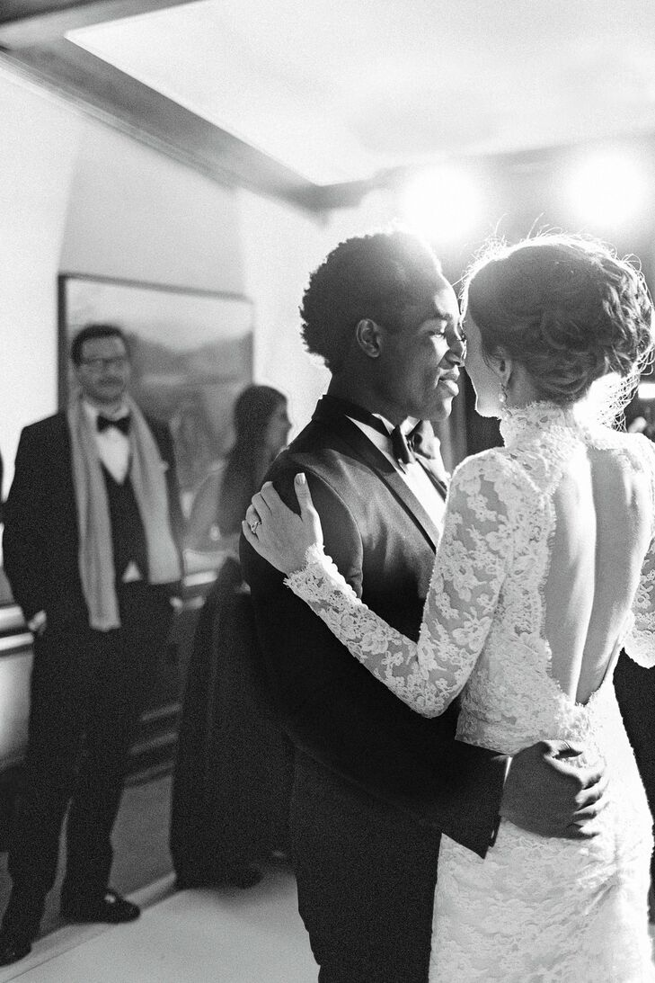 Josie and Kow had their first dance to Your Song by Elton John. It's the perfect first-dance song! she says.