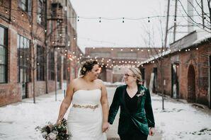 Winter Wedding at at PAIKKA in St. Paul, Minnesota