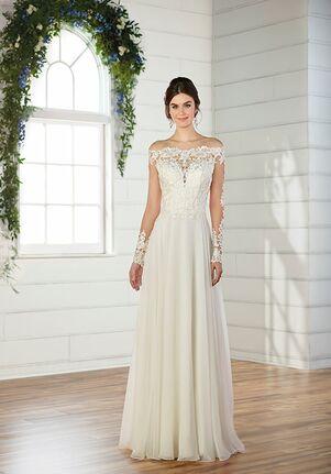 07102d2001 Empire Waist Wedding Dresses