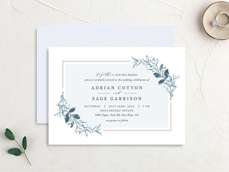 35 Winter Wedding Invitations We Love