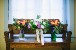 Fall-Inspired Bridal Party Bouquets
