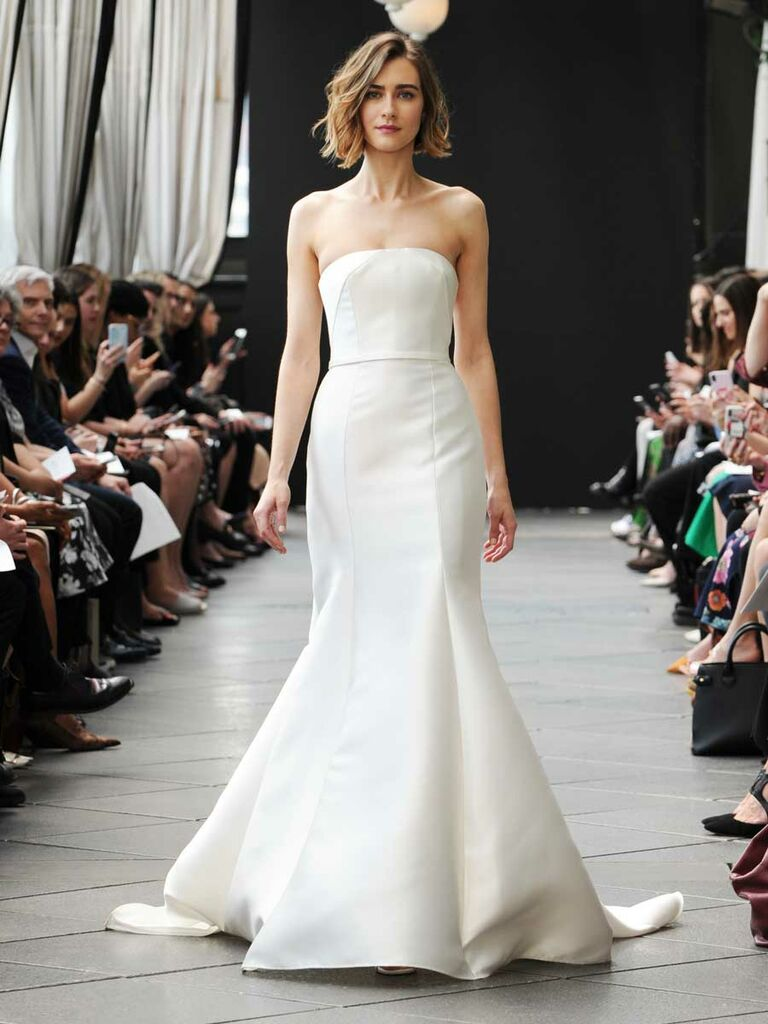 461125db4ad Nouvelle Amsale Spring 2019 Collection  Bridal Fashion Week Photos