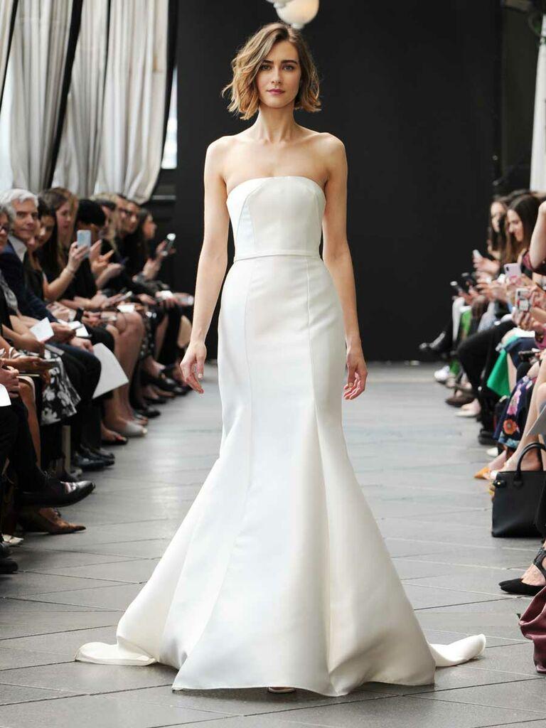 042980ebbc Nouvelle Amsale Spring 2019 Collection  Bridal Fashion Week Photos