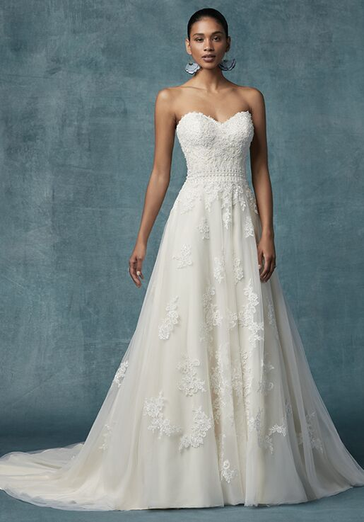 Maggie Sottero Dorthea Wedding Dress   The Knot