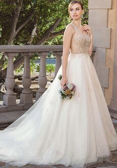 Casablanca Bridal 2316 Sable A-Line Wedding Dress