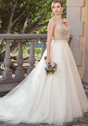 Casablanca Bridal 2316 Sable A-Line Wedding Dress