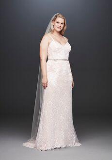 David's Bridal Galina Signature Style 9SWG819 Sheath Wedding Dress