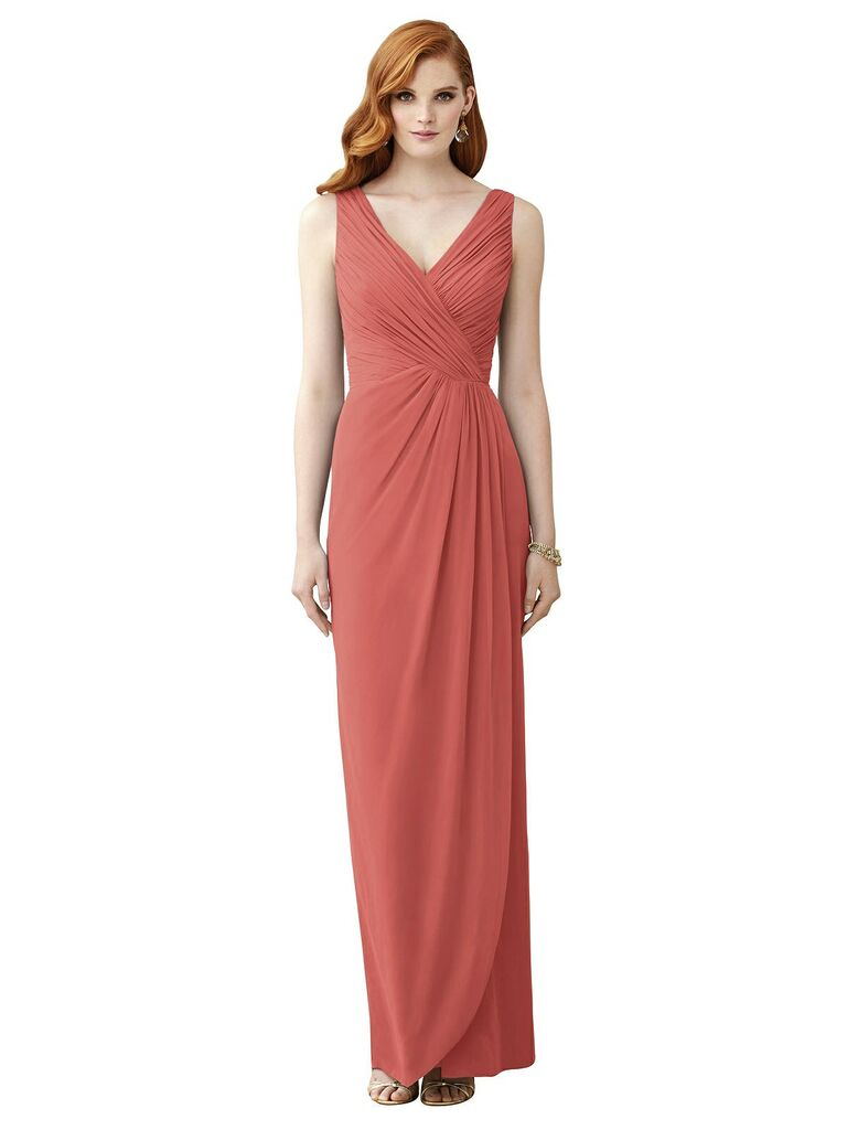 Romantic affordable bridesmaid dress under $150