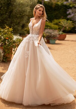 Moonlight Collection J6778 Ball Gown Wedding Dress