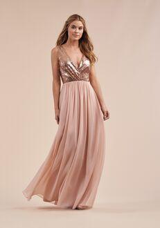 B2 Bridesmaids by Jasmine B213065 V-Neck Bridesmaid Dress