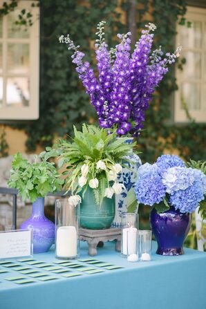 Purple and Violet Arrangements