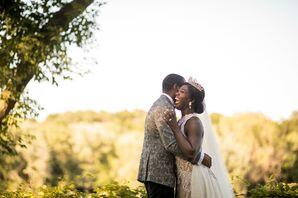 Glamorous Bride in Tiara