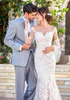 KITTYCHEN Couture RENE, H1628 Sheath Wedding Dress
