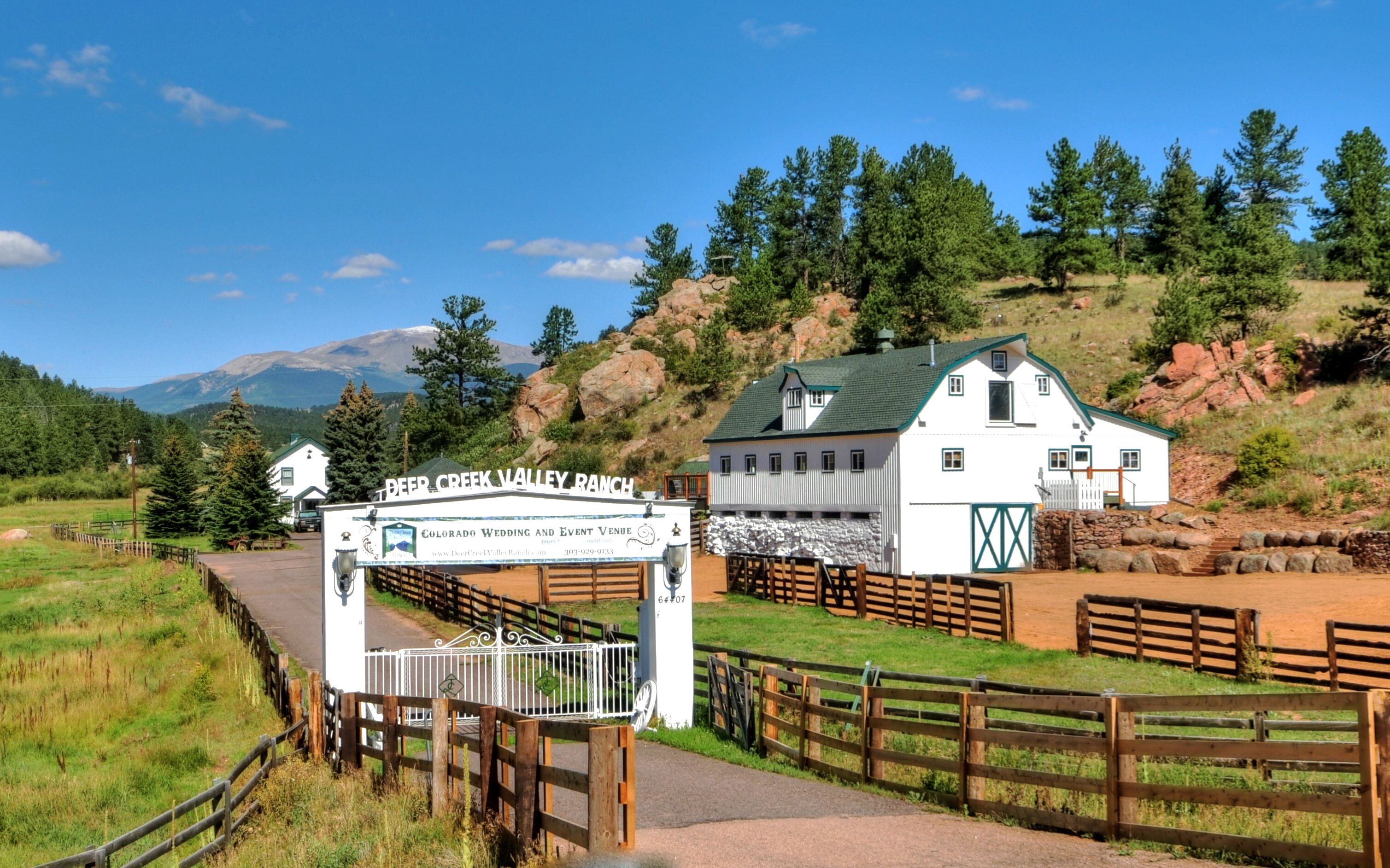 Deer Creek Valley Ranch Reception Venues Bailey Co