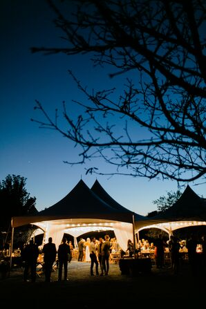 Sunset Tented Reception in Springfield, Missouri