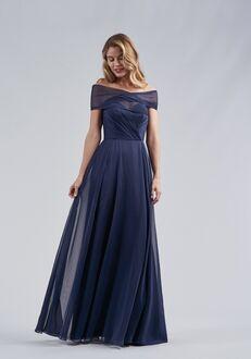 Belsoie Bridesmaids by Jasmine L214058 Off the Shoulder Bridesmaid Dress