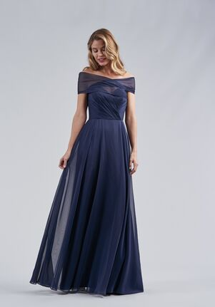 Belsoie Bridesmaids by Jasmine L214058 Off the Shoulder Bridesmaid Dress
