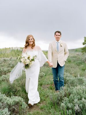 Casually Elegant Couple at C Lazy U Ranch in Granby, Colorado