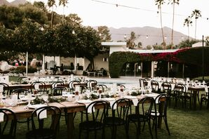 Black-and-White Reception in Palm Springs