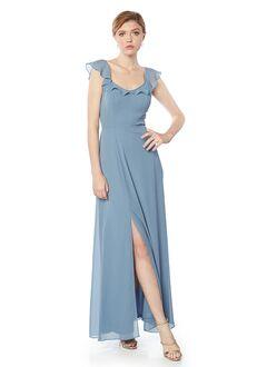 #LEVKOFF 7125 Scoop Bridesmaid Dress