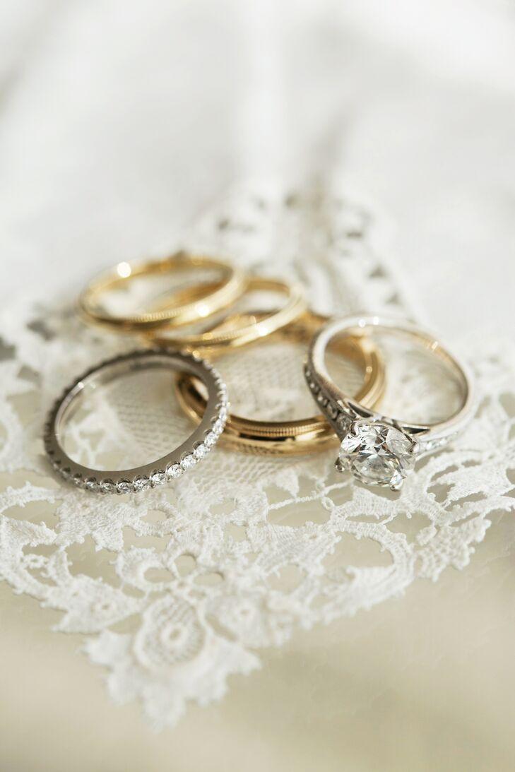 Custom Designed Vintage-Inspired Rings