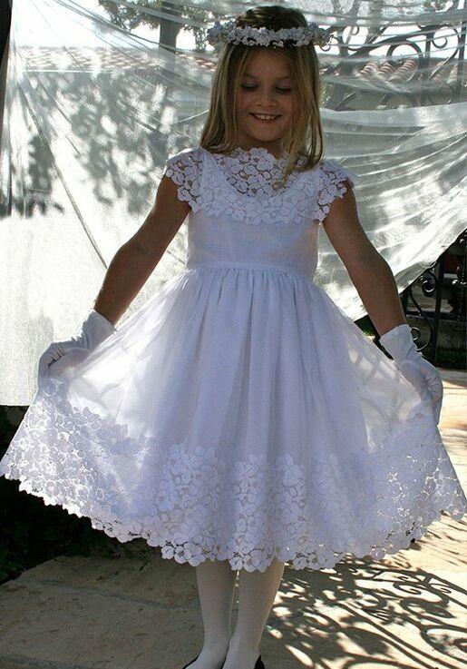 456cc522392 Isabel Garretón Vintage Flower Girl Dress - The Knot