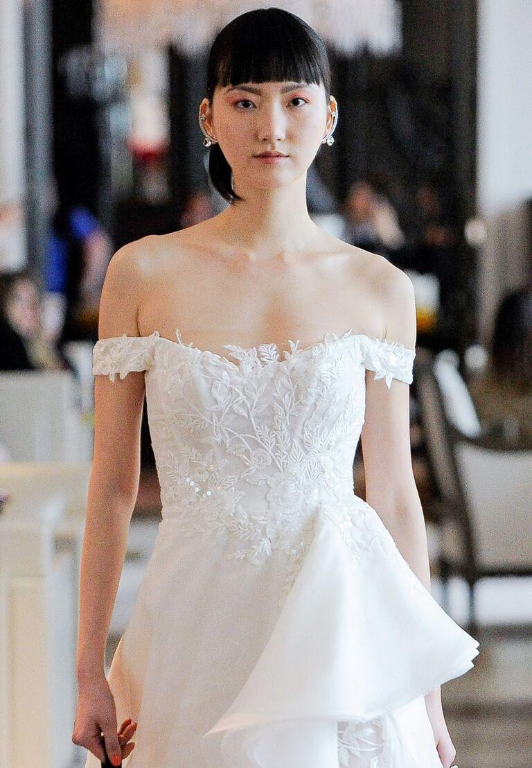 3690e97e0849 Ines Di Santo Spring 2020 Collection: Bridal Fashion Week Photos