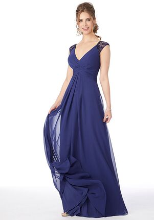 Morilee by Madeline Gardner Bridesmaids 21687 -Morilee by Madeline Gardner Bridesmaids V-Neck Bridesmaid Dress