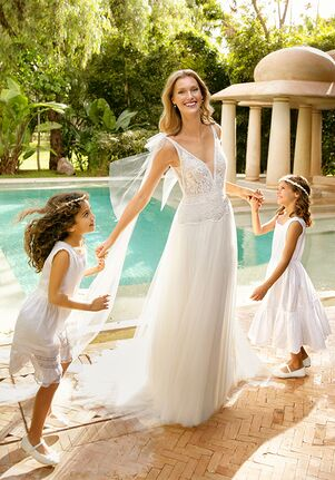 Rosa Clará Soft Rombo A-Line Wedding Dress