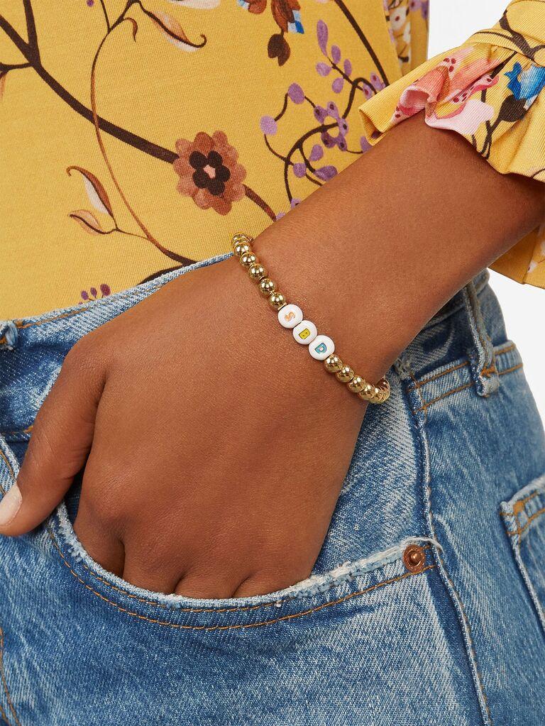 Friendship bracelet bachelorette party gift