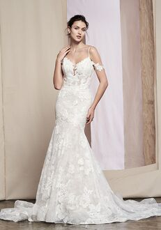 Justin Alexander Signature Tansy Mermaid Wedding Dress