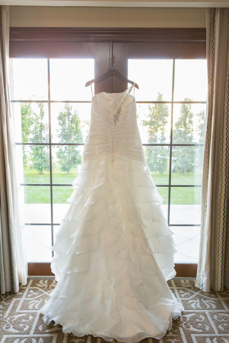Ivory White Lace Wedding Dress