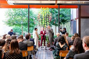 Eclectic Ceremony at Comal in Berkeley, California