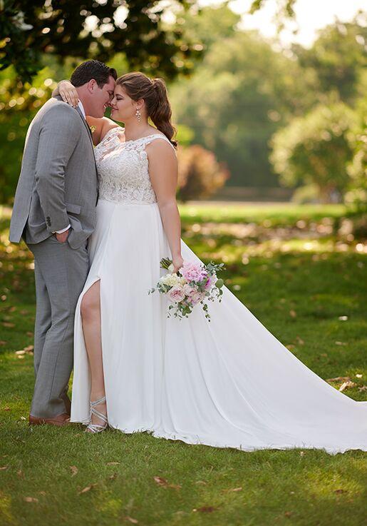 Stella York 6871+ A-Line Wedding Dress