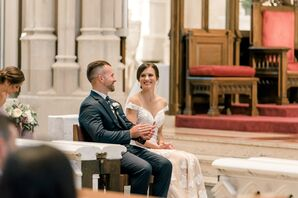 Traditional Wedding at Saint Paul Cathedral in Pittsburgh