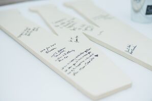 Wooden Letter Guestbook