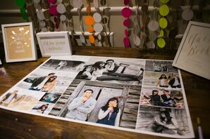 Photo Collage Guest Book