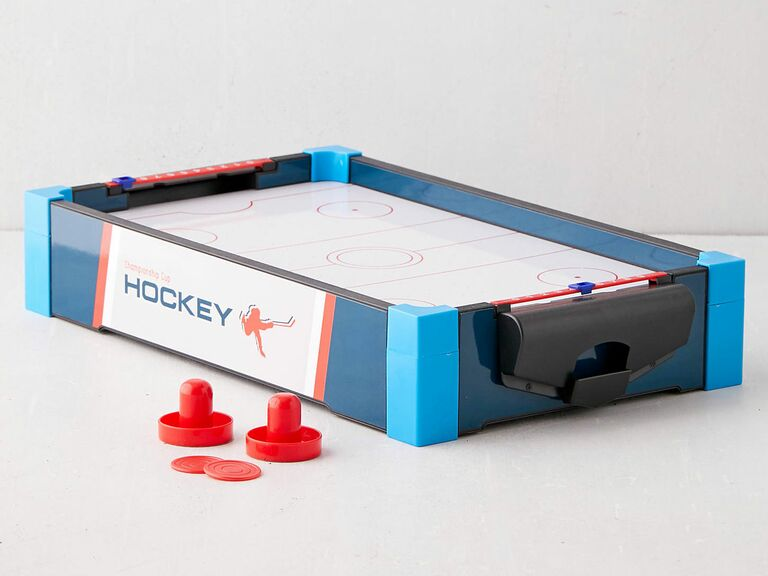 mini air hockey table fun gift for husband