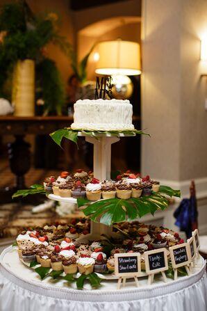 Cake and Cupcake Dessert Station