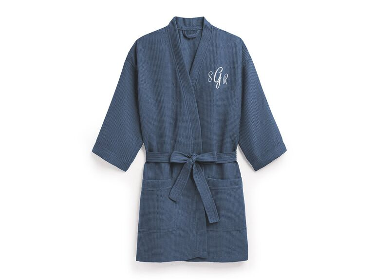 Blue robe 10 year anniversary gift for her