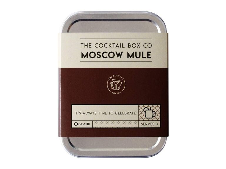 Moscow Mule cocktail kit inexpensive groomsmen gift