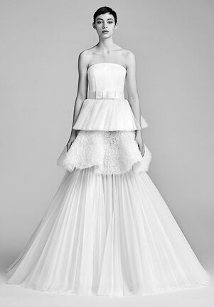 Viktor&Rolf Mariage TEXTURAL TULLE TIER GOWN Ball Gown Wedding Dress
