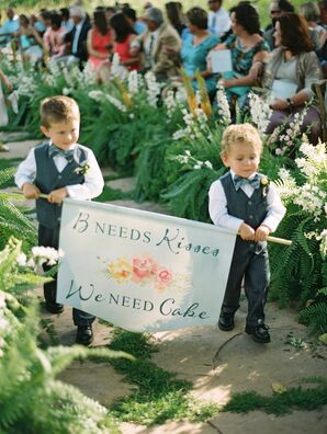 Ring Bearer Banner Sign