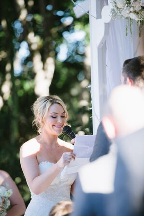 Outdoor Wedding Ceremony Vows
