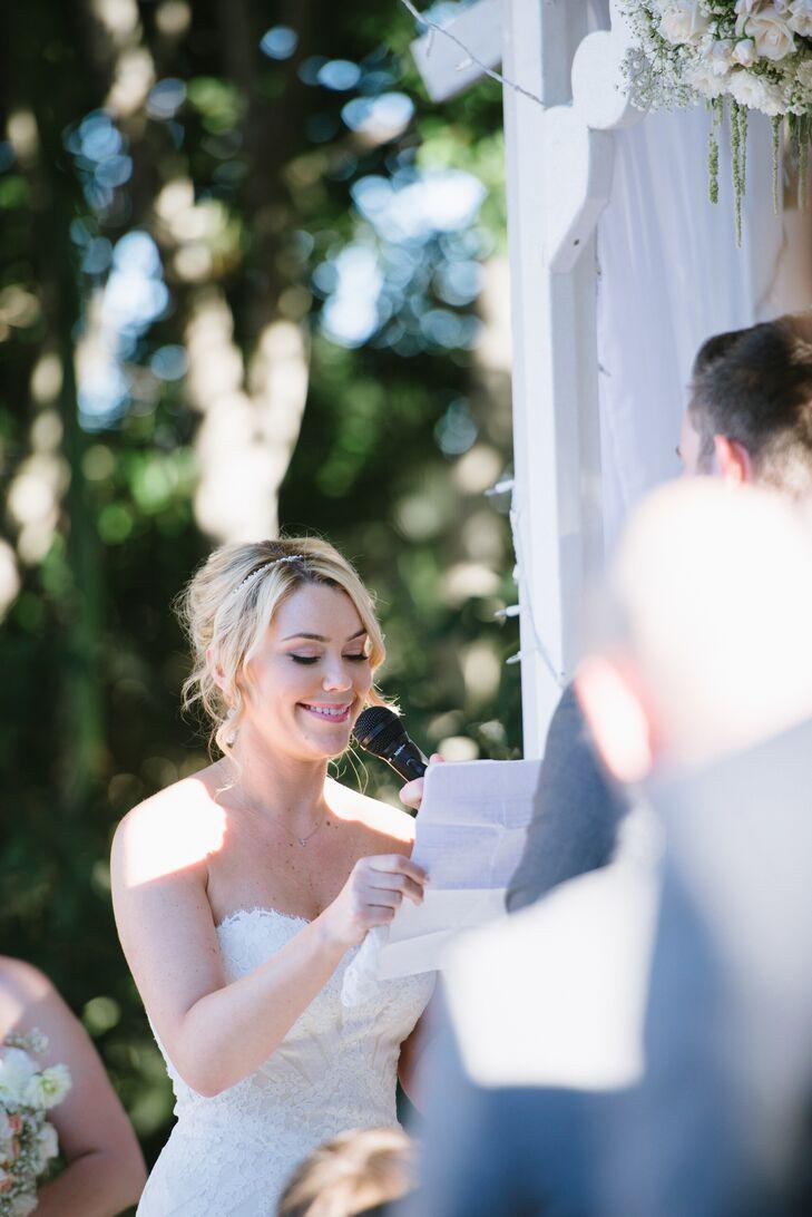 Outdoor Wedding Ceremony Vows