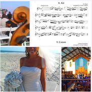 Stone Harbor, NJ Classical Duo | Grace Note Strings ~ Weddings, Beach & Church